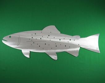 Metal Art Fish Replica & Silhouettes - Trout Replica Fish