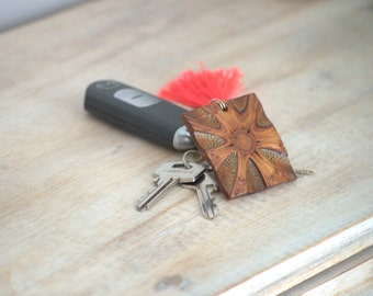 Accessories - wood keyring, gift for her, wood keychain, rustic gift, australian gift, wood gift, unique gift, wooden keychain, banksia