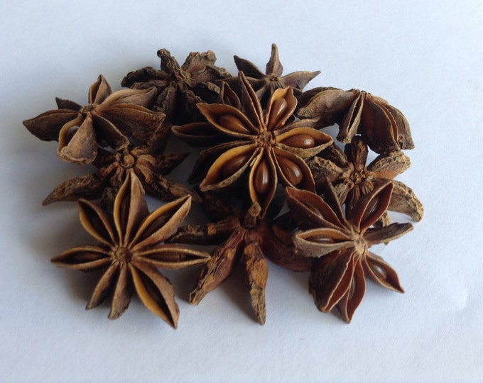 1/2-4 oz Whole Organic Star Anise Pods Illicium verum With Free Vietnamese Pho recipe in listing
