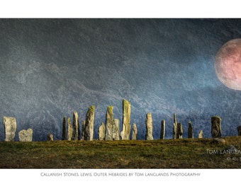 Callanish and Blood Red Moon