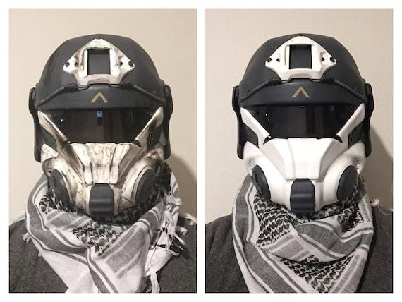 Titanfall IMC pilot helmet/mask airsoft/paintball