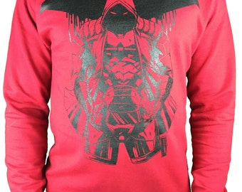 Red Hood sweatshirt DC Comic sweat best batman red hood top H8SigipL7