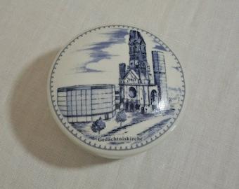 Vintage Souvenir Box from Gedachtniskirche - Germany