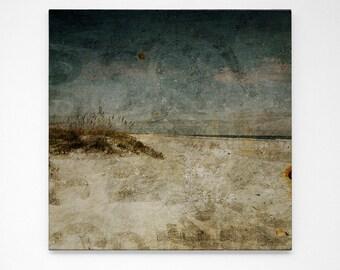 "Masonboro Island Art No. 1- 24"" x 24"" Large Beach Photography- Living Room Art- Prints for Bedroom Art- Bedroom Decor"