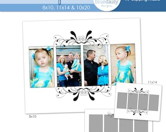 Flourish Storyboard Collection (8x10, 11x14, 10x20) - Photographer Resources
