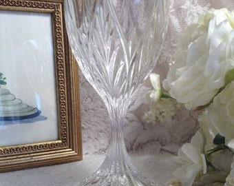 Crystal Water Or Wine Goblet