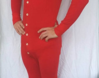Vintage Duofold red Long Johns  FREE SHIPPING