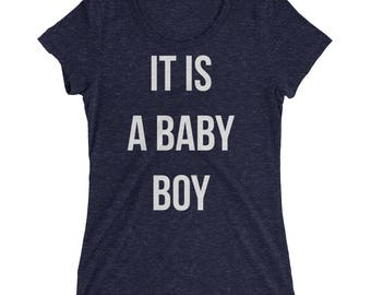 Maternity shirt   It is a baby boy