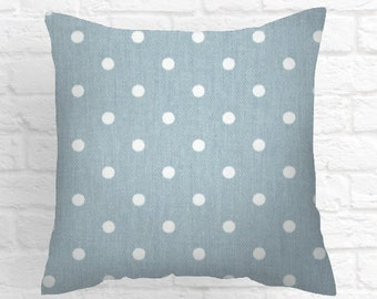 Blue Pillow Covers  Weathered Blue Pillow Covers Decorative Pillows  Size Choice  Accent Pillows Throw Pillows Decorative Pillows Home