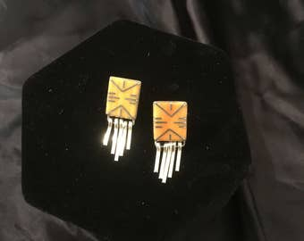 Authenic Zuni Earrings
