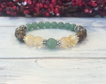 Wealth Maker Bracelet, Intention Bracelet, Wrist Mala For Manifestation, Financial Success, Attract Prosperity, Abundance, Money Maker