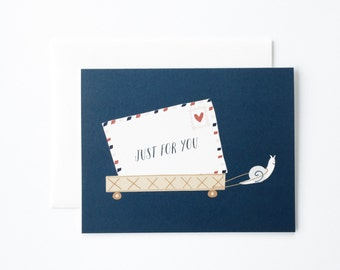 Just For You Card, Just Because Card, Thinking of You Card