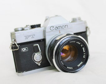 1960s Professionally-Tested Vintage Canon FT QL Analog Camera Retro Single-lens reflex SLR