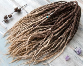 Synthetic Crochet Double Ended Ombre Dreads Full set
