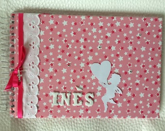Girl themed personalized PHOTO album