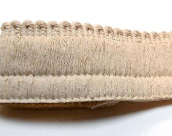 Natural Brush Fringe Trim HT1581 2 Inch Cream Ivory