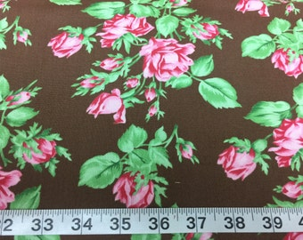 Floral Romance by Free Spirit, item# PWVM-114 Sepia, fabric by the yard