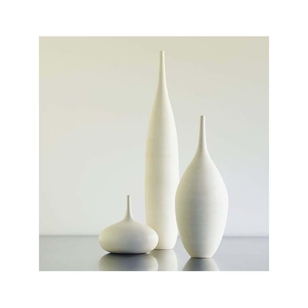 3 large white modern ceramic bottle vases in modern white zoom reviewsmspy