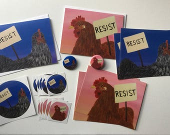 Resistance Chickens Pack