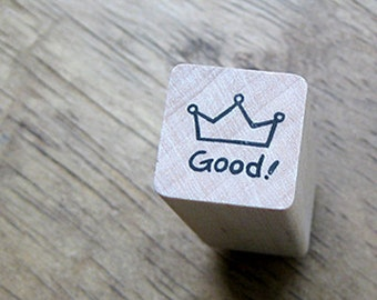Crown Good Stamp (0.75 x 0.75in)