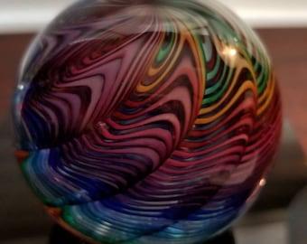 2010 James Alloway #400 Rainbow Waves of Beauty