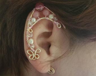 Wire elf ear cuffs