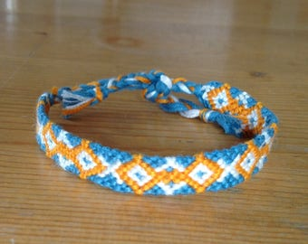Friendship Bracelet / Bracelet Brazilian / embroidered, woven and hand made