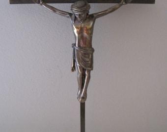 Vintage Copper Crucifix
