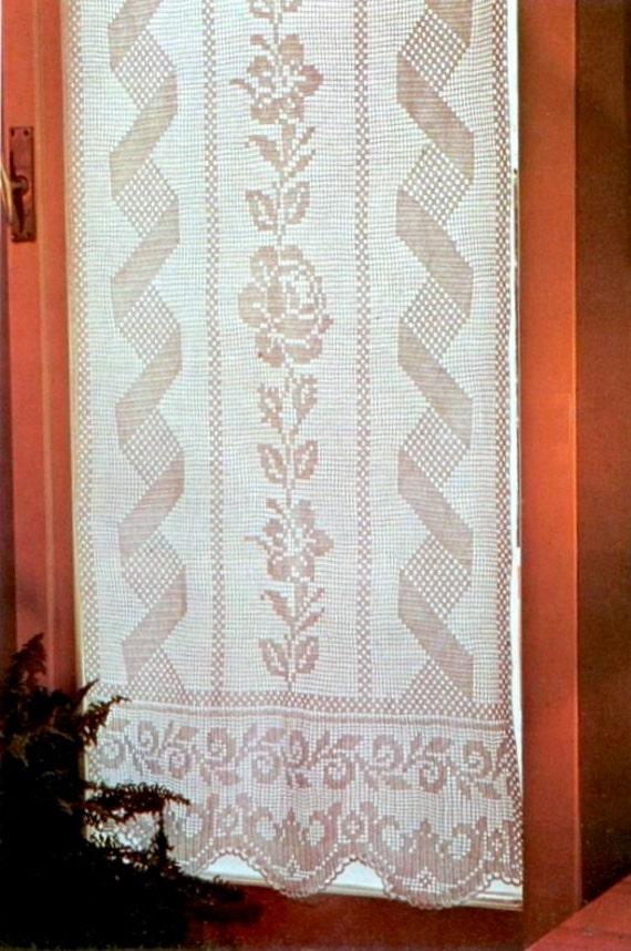 Schema pdf tende filet a uncinetto decorazioni per la for Decorazioni per la casa online