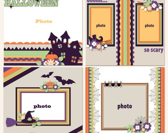 Hallo-What Digital Scrapbooking Templates