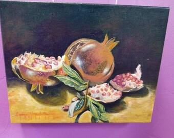Pomegranate Painting
