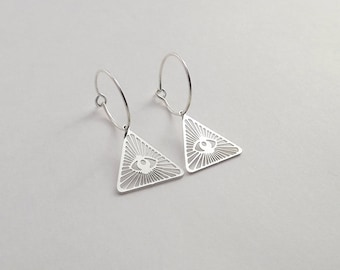 "Silver-20% ""I SEE U"" earrings collection end"