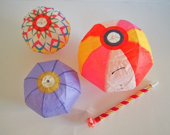 Japanese Paper Balloon / Temari