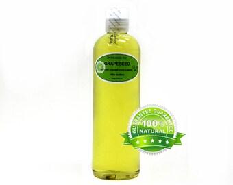 12 oz Grapessed Oil 100% Pure Organic Cold Pressed