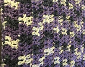 Lilac Chunky Blanket