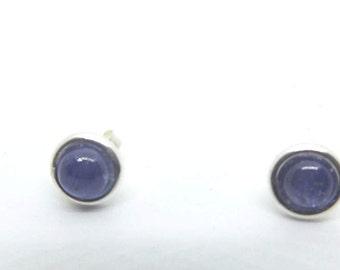 6 mm Tanzanite Stud Earrings