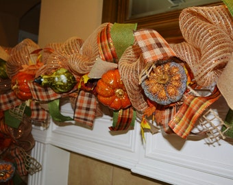 Fall Garland - Example Only