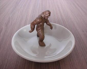 Sasquatch, Spotted // Cryptozoology Ring Dish