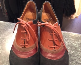John Fluevog Lace up Shoes