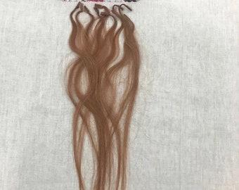 10 strands remy U tip hair extensions Auburn fusion nail tip hair.