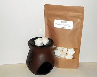Sandalwood & Pepper Wax Melts - Highly Scented Wax Melts - Wax Melter - Scented Wax Melts - Natural Wax Melts - Soy Wax Melt - Wax Tarts