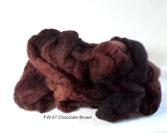 Felting Wool: FW-57 Chocolate Brown