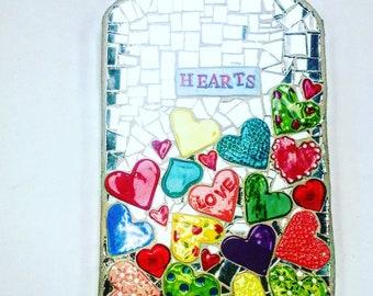 Jar of Hearts Mosaic