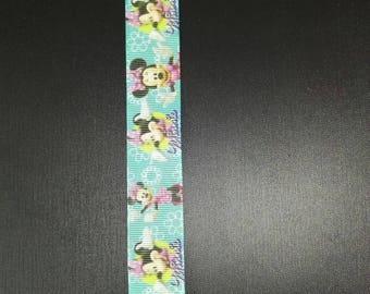 Minnie Ribbon pacifier clip