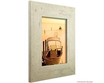 "Craig Frames, 12x16 Inch Modern White Picture Frame, Bauhaus 3"" Wide (660121216)"