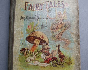 Antique Andersen's Fairy Tales Published by the W.B. Conkey Company