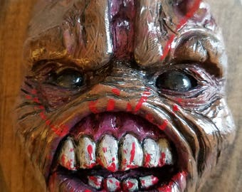Brute Zombie Wall Mount sculpture