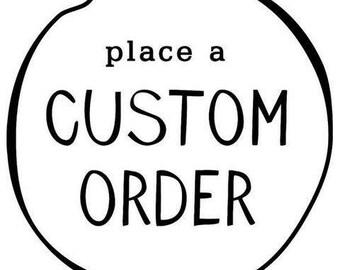 Custom Earring Order