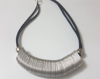 Recycled Pop tab Flow Necklace