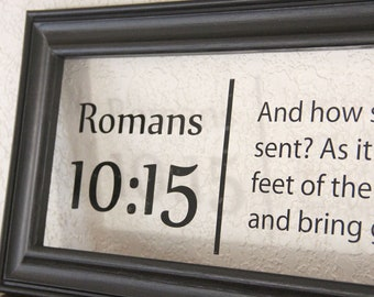 Personalized Bible Verse Sign Acrylic Sign Pastor Appreciation Gift for Pastor Custom Christian Gift for Baptism Religious Gift Church Decor